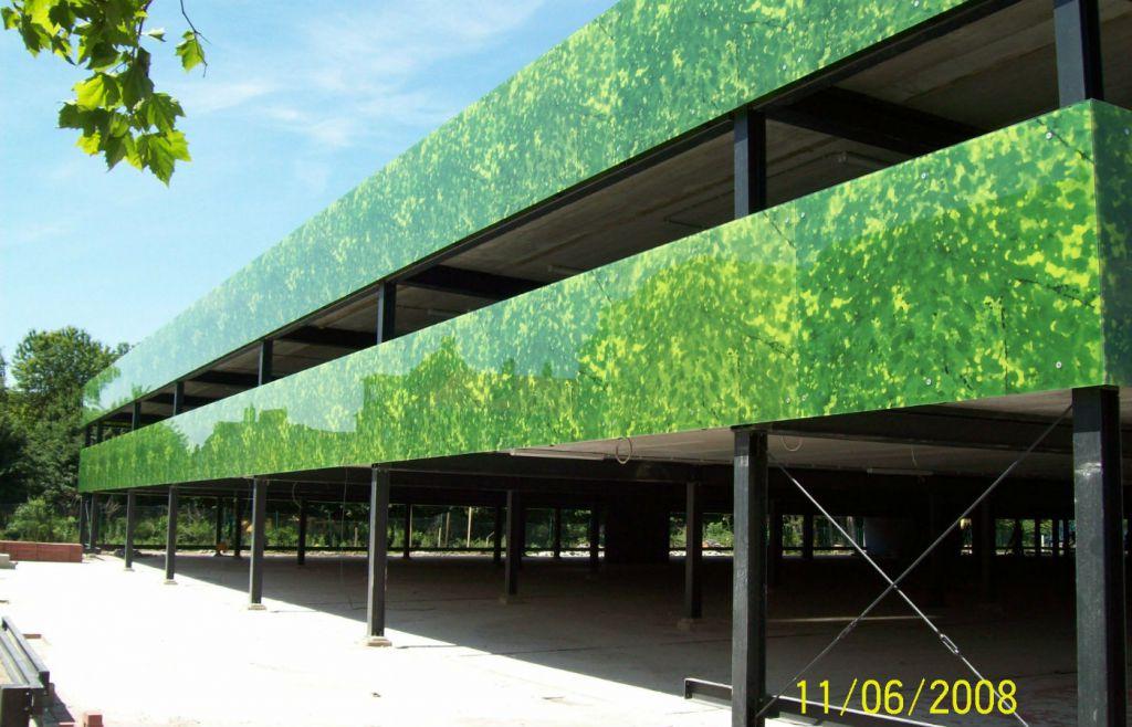 AZ Damiaan: parkeergebouw