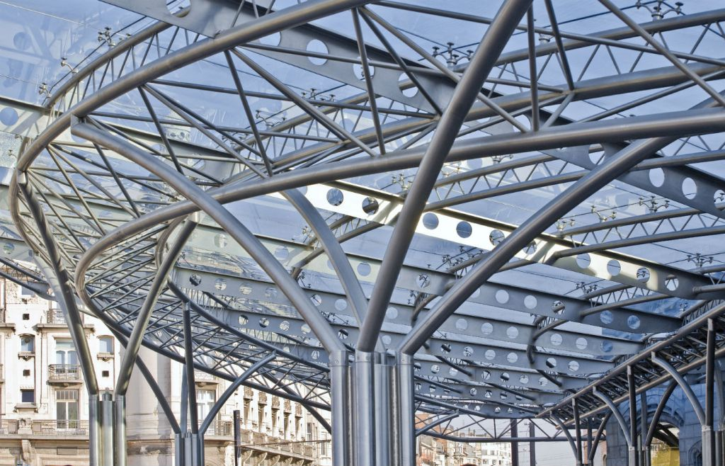 Sint-Pieters-Station nieuwe luifel