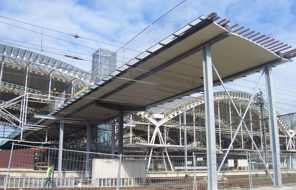 Station Leuven verlenging voetgangersbrug